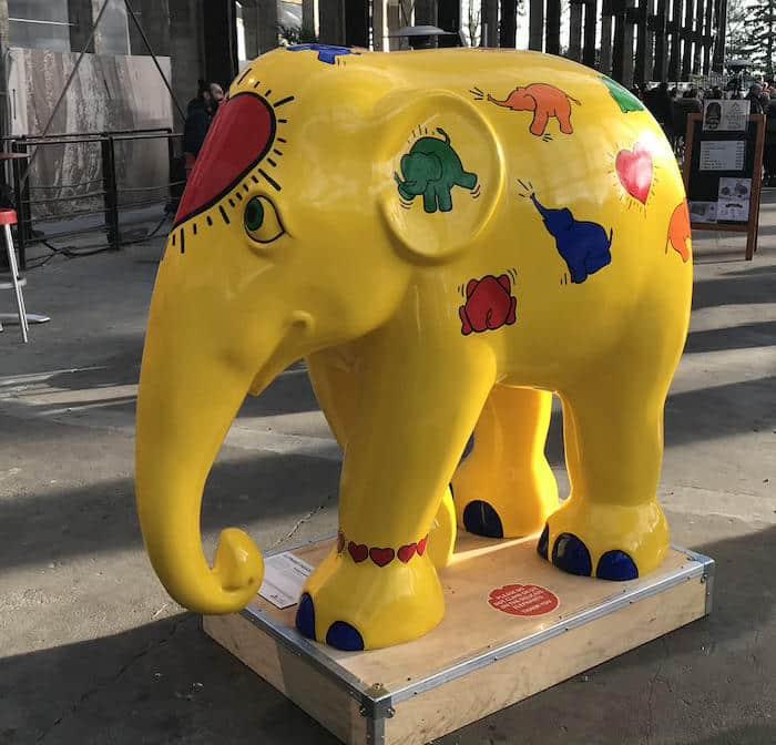 elephant-parade-keith-haring-côté